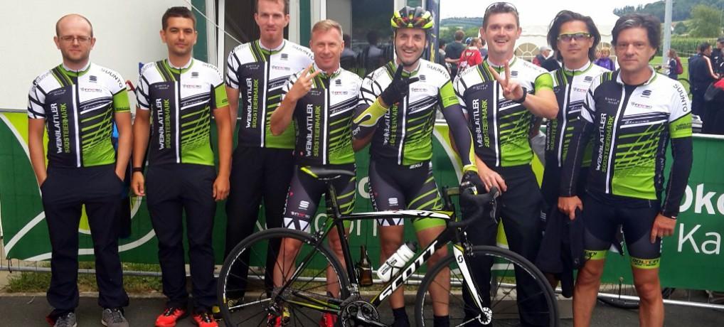 Voller Erfolg der Weinblattler beim 24 Stunden Biken in Kaindorf