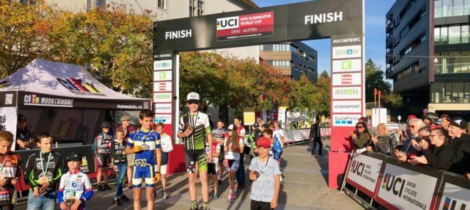 Weinblattler Junior zeigt beim UCI Eliminator groß auf